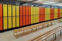Szafy metalowe - szatnia szkolna II (8)
